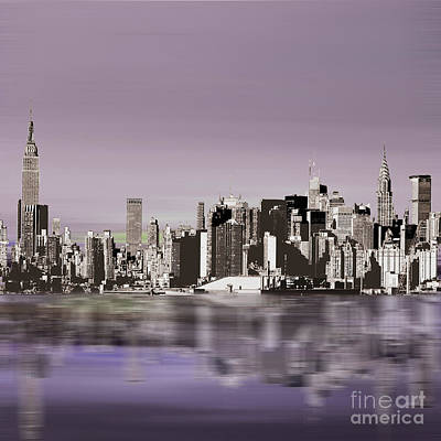 New York Skylines 88 Art Print
