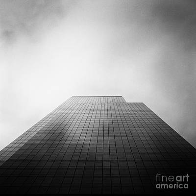 New York Skyscraper Art Print by John Farnan