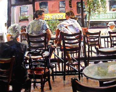 Painting - New York Spice by Chuck Berk