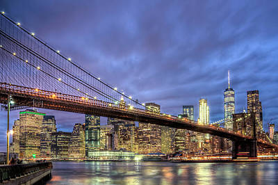 New York Spirit Art Print by Zev Steinhardt
