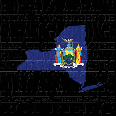 Photograph - New York State by Andrew Fare