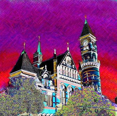 New York State Of Mind Art Print by Howard Lancaster