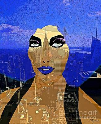 Painting - New York State Of Mind by Saundra Myles