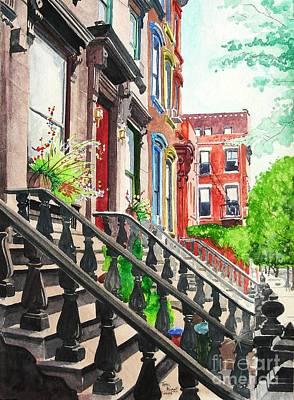 New York Steps Art Print