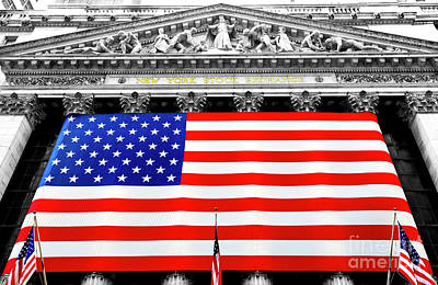 New York Stock Exchange 2006 Art Print