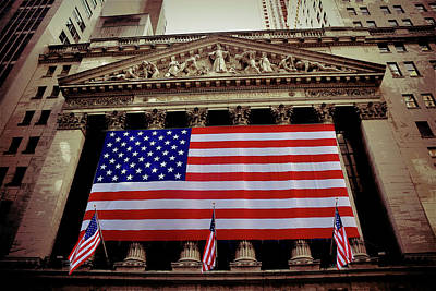 Photograph - New York Stock Exchange by Daniel Hagerman