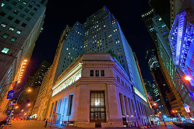 Photograph - New York Stock Exchange by Johnny Sandaire