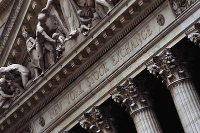 New York Stock Exchange New York Ny Art Print