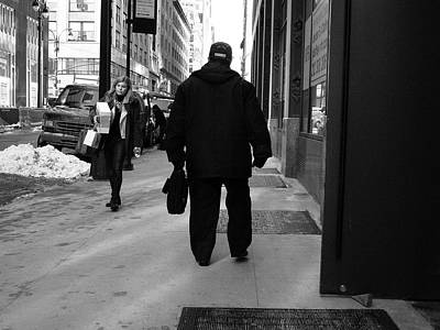 Photograph - New York Street Photography 68 by Frank Romeo