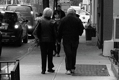 Photograph - New York Street Photography 75 by Frank Romeo