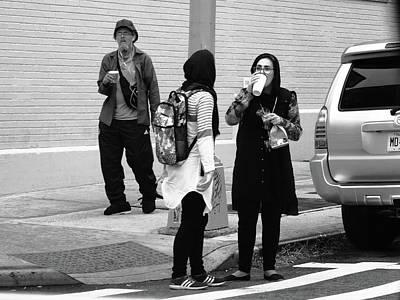Photograph - New York Street Photography 76 by Frank Romeo