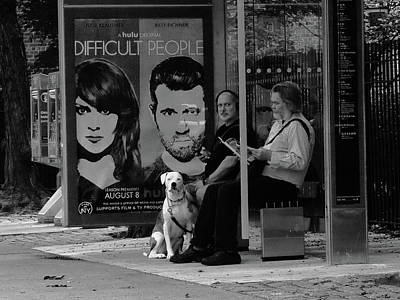 Photograph - New York Street Photography 77 by Frank Romeo
