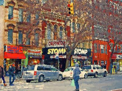 Digital Art - New York Streets 29 by Yury Malkov