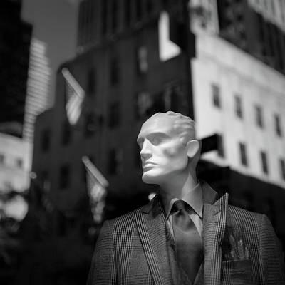 New York Style Art Print by Dave Bowman