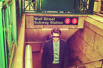 Photograph - New York Subway Station by Alexander Image