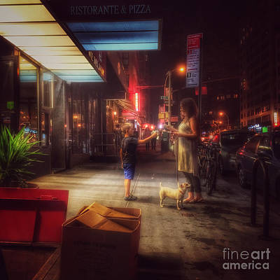 Photograph - New York Summer Nights by Miriam Danar
