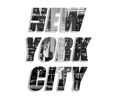 Photograph - New York Tee Tote 90715 by Rospotte Photography