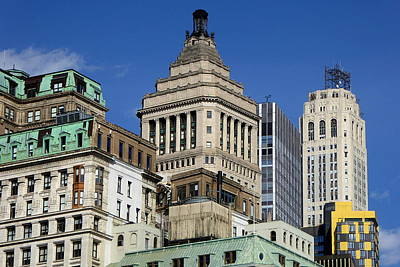 Photograph - Old New York Architecture by Peter Potter