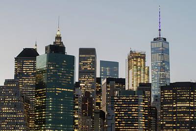 Photograph - New York Twilight by Jesse MacDonald