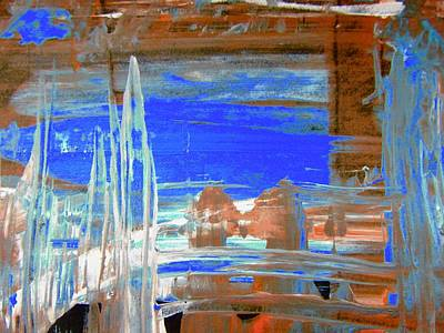Painting - New York Under Water by Stephanie Moore