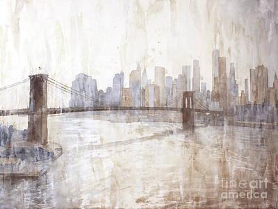 Painting - New York V2 by Ryan Fox