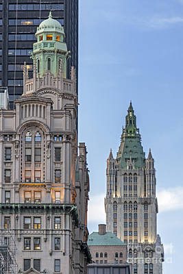 Photograph - New York Woolworth Building  by Juergen Held