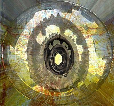 City Of Dubai Digital Art - 'new York Wormhole' by Vincent Messelier