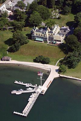 New York Yacht Club Harbour Court 5 Halidon Avenue Newport Ri 02840 3815 Art Print by Duncan Pearson