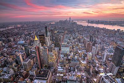 Photograph - New York by Zev Steinhardt