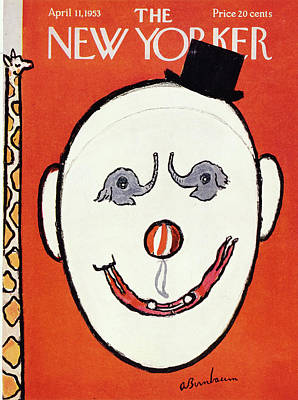 Drawing - New Yorker April 11 1953 by Abe Birnbaum