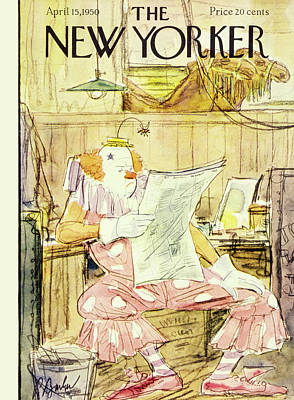 Painting - New  Yorker April 15 1950 by Perry Barlow