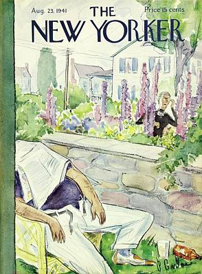 Painting - New Yorker August 23 1941 by Perry Barlow