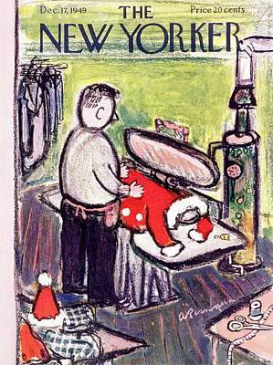 Painting - New Yorker December 17 1949 by Abe Birnbaum