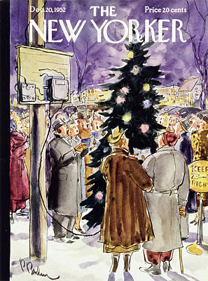 Painting - New Yorker December 20 1952 by Perry Barlow