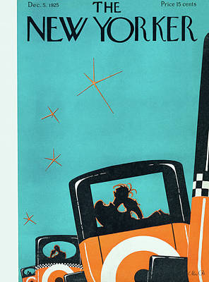 Painting - New Yorker December 5 1925 by Max Ree