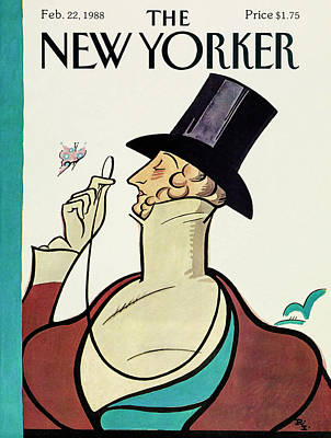 Drawing - New Yorker February 22 1988 by Rea Irvin