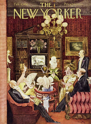 Painting - New Yorker February 4 1950 by Mary Petty