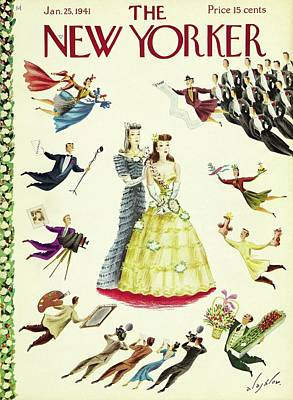 Painting - New Yorker January 25 1941 by Constantin Alajalov
