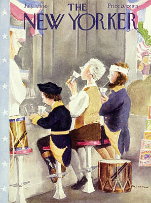 Painting - New Yorker July 1 1950 by William Cotton