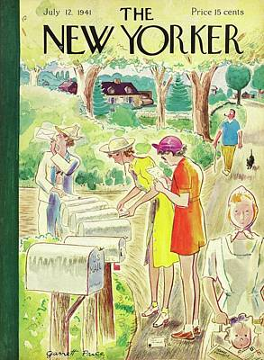 Painting - New Yorker July 12 1941 by Garrett Price