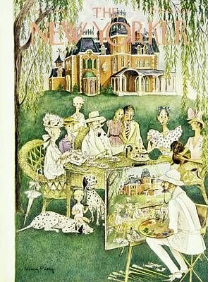Painting - New Yorker July 31 1948 by Mary Petty