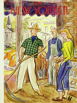 Painting - New Yorker June 11 1949 by Julian De Miskey