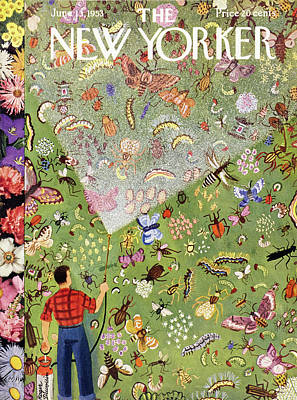 Painting - New Yorker June 13 1953 by Roger Duvoisin