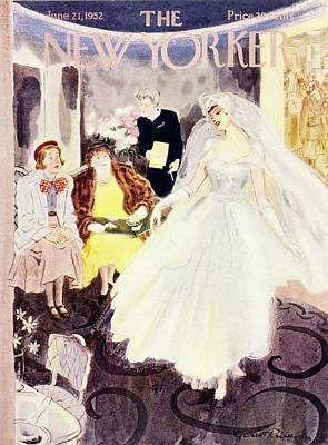 Painting - New Yorker June 21 1952 by Garrett Price