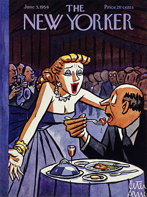 Painting - New Yorker June 5 1954 by Peter Arno