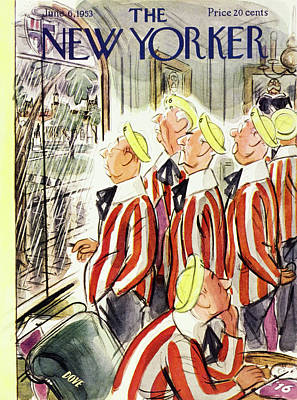 Painting - New Yorker June 6 1953 by Leonard Dove