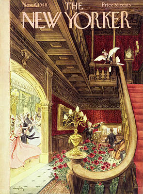 Painting - New Yorker November 6, 1948 by Mary Petty