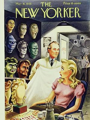 Painting - New Yorker March 16 1946 by Constantin Alajalov