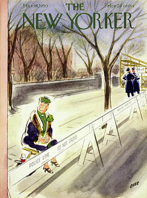 Painting - New Yorker March 18 1950 by Leonard Dove