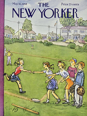 Painting - New Yorker May 10 1958 by Perry Barlow